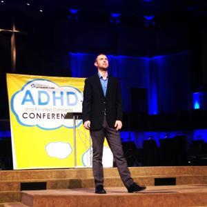 Me presenting ADHD